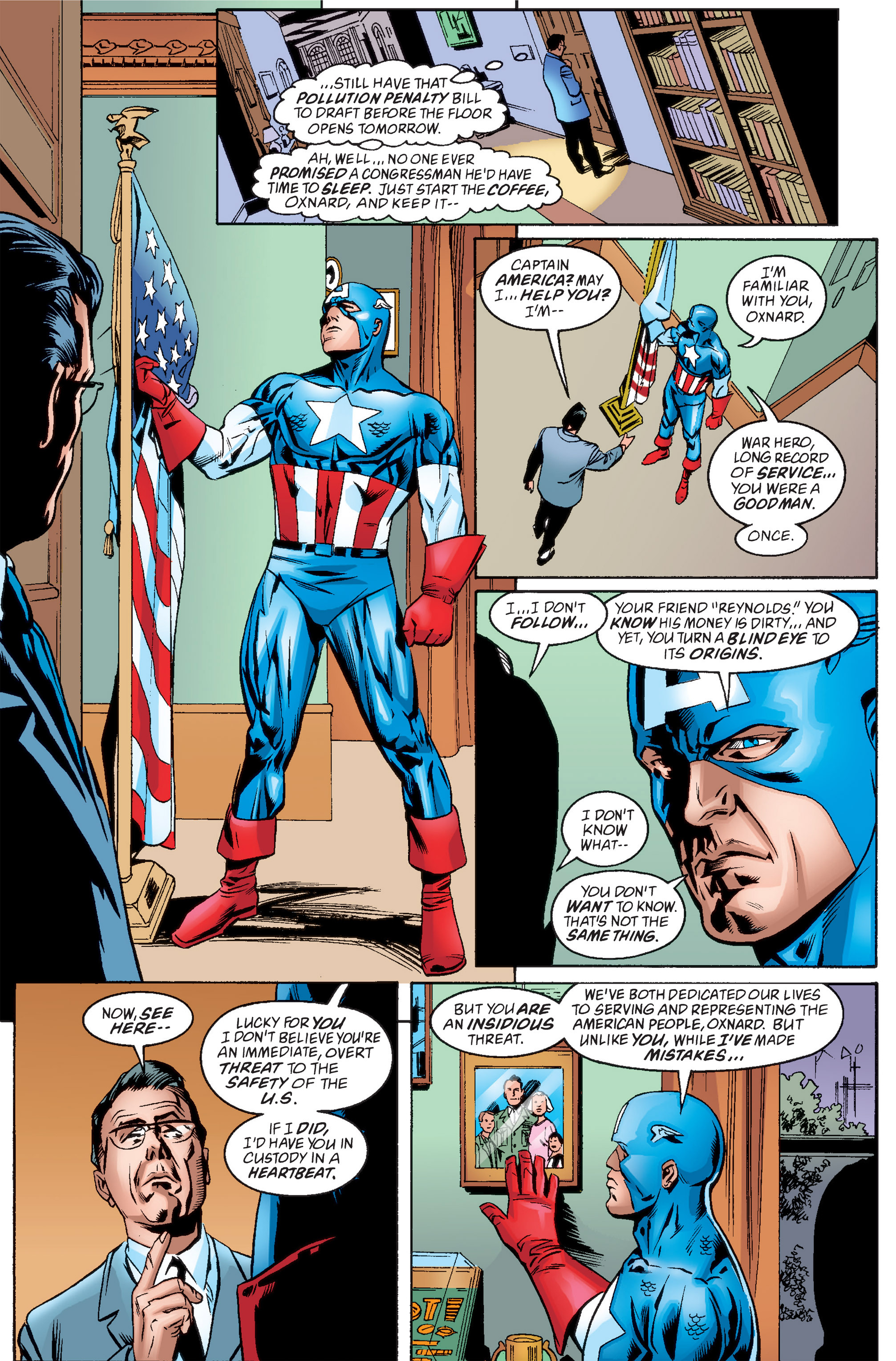 Captain America (1998) Issue #13 #19 - English 18