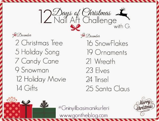 12 days of cristmas