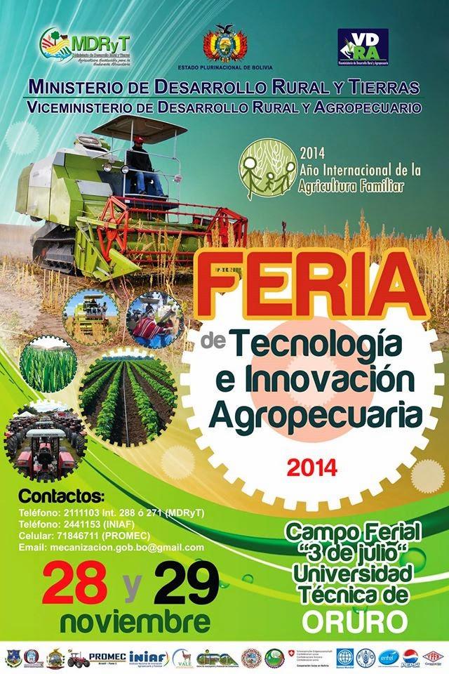 Feria de Tecnología e Innovación Agropecuaria