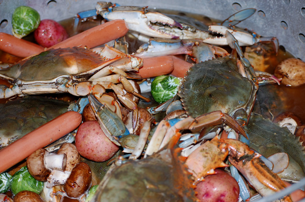 Crab Boil, Summer Party Ideas, How-To, Tutorial, Cajun/Creole, blue crab, Louisiana