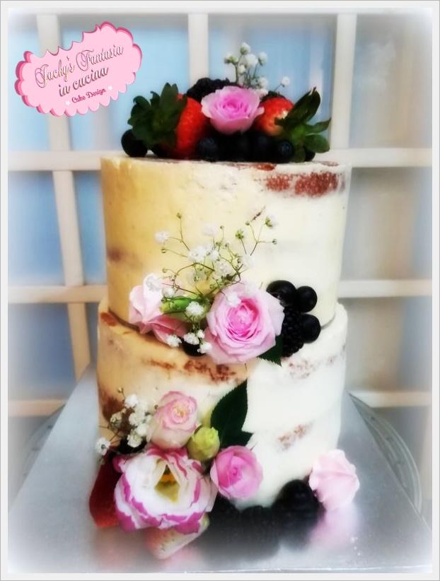 Naked cake!