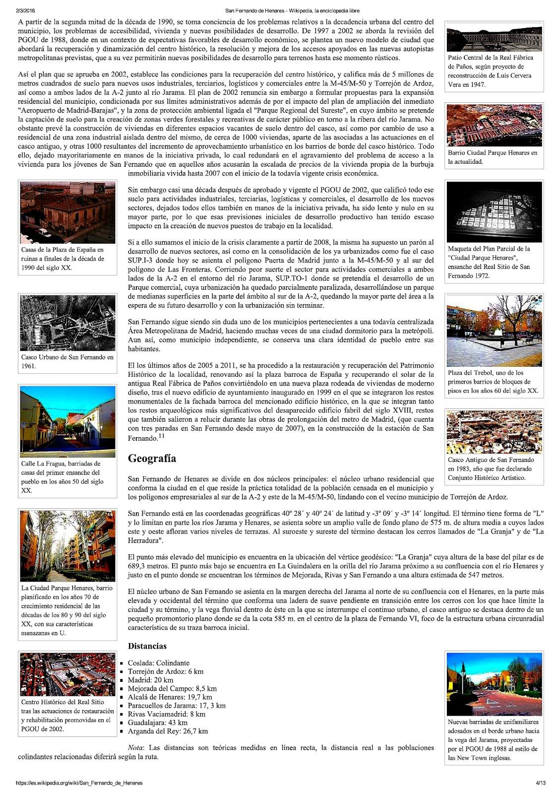San Fernando en Wikipedia 2016.4