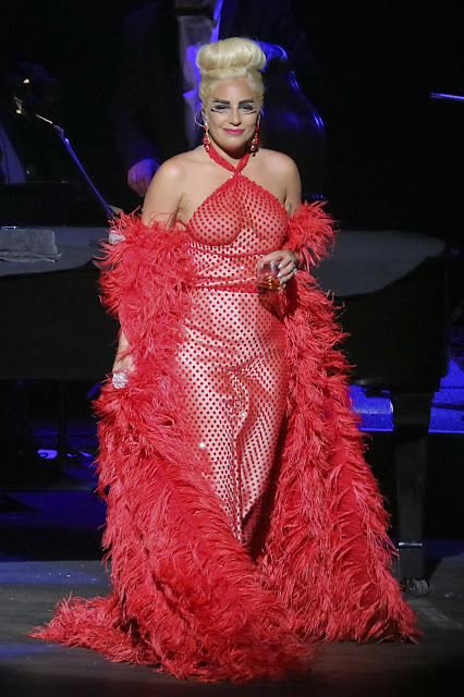 Singer @ Lady Gaga -  Cheek To Cheek Tour in Vancouver