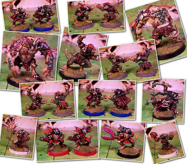 Blood Bowl Skavens Team