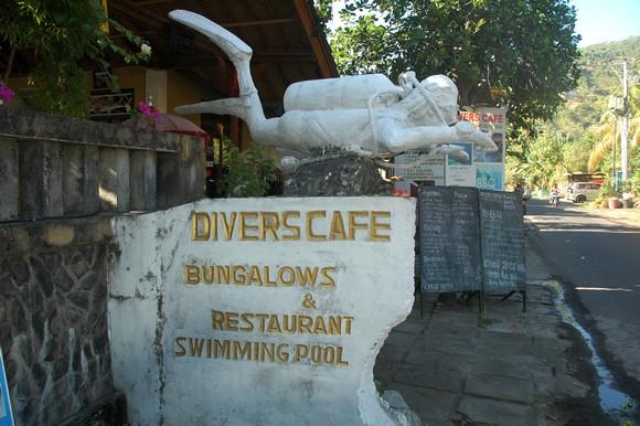 Diver's Cafe, Amed Bali