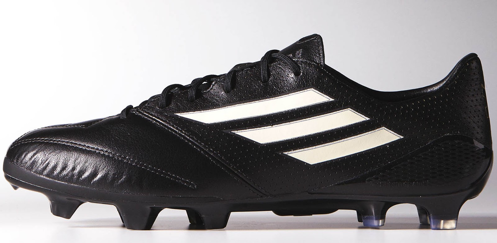 adidas f50 black white gold