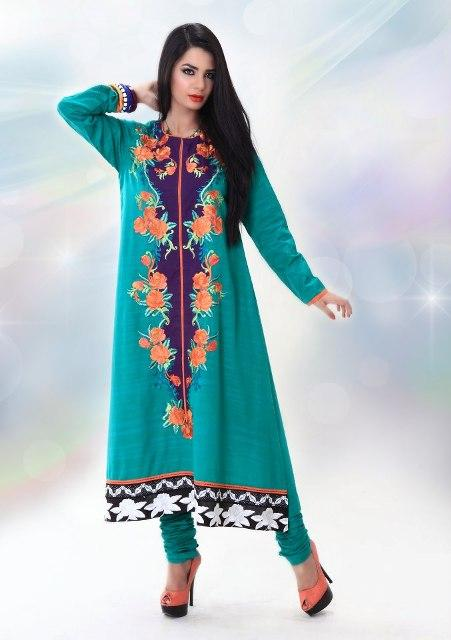 Latest fashion ladies party wear dresses pakistani stylish designs
