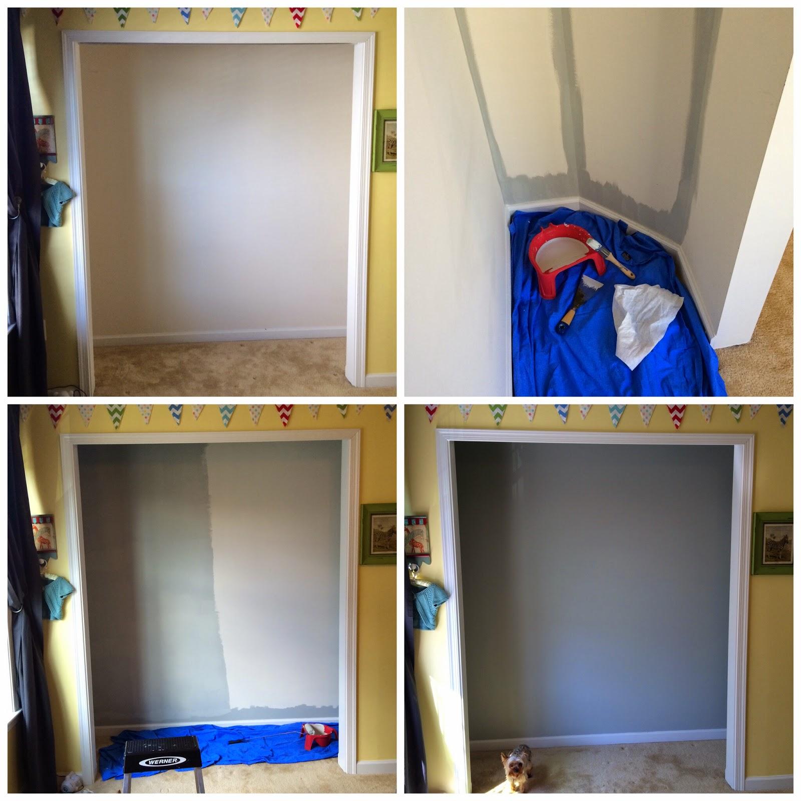 DIY Custom Closet - Before & After