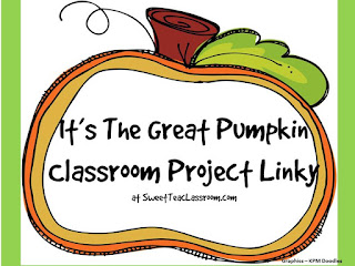 classroom pumpkin project linky
