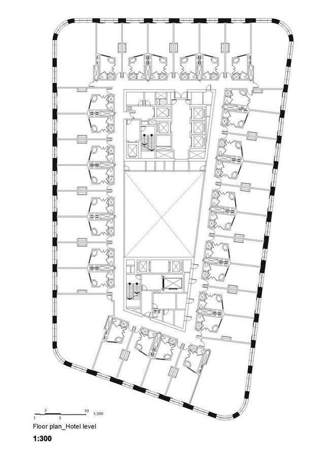 Annex building floor plan