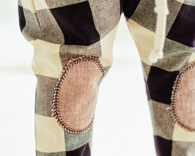 Knee patches by Kindred OAK for holiday collection 2014