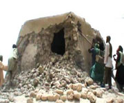 Islamists destroyed tomb of a Muslim saint in Mali