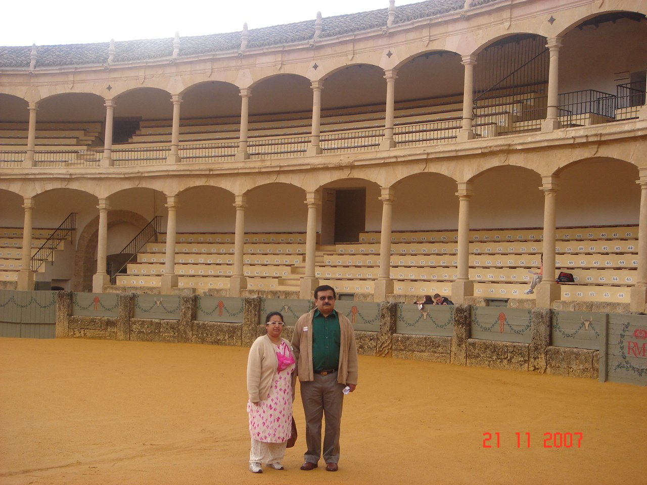 Bull Fighting Ring at Ronda,Spain