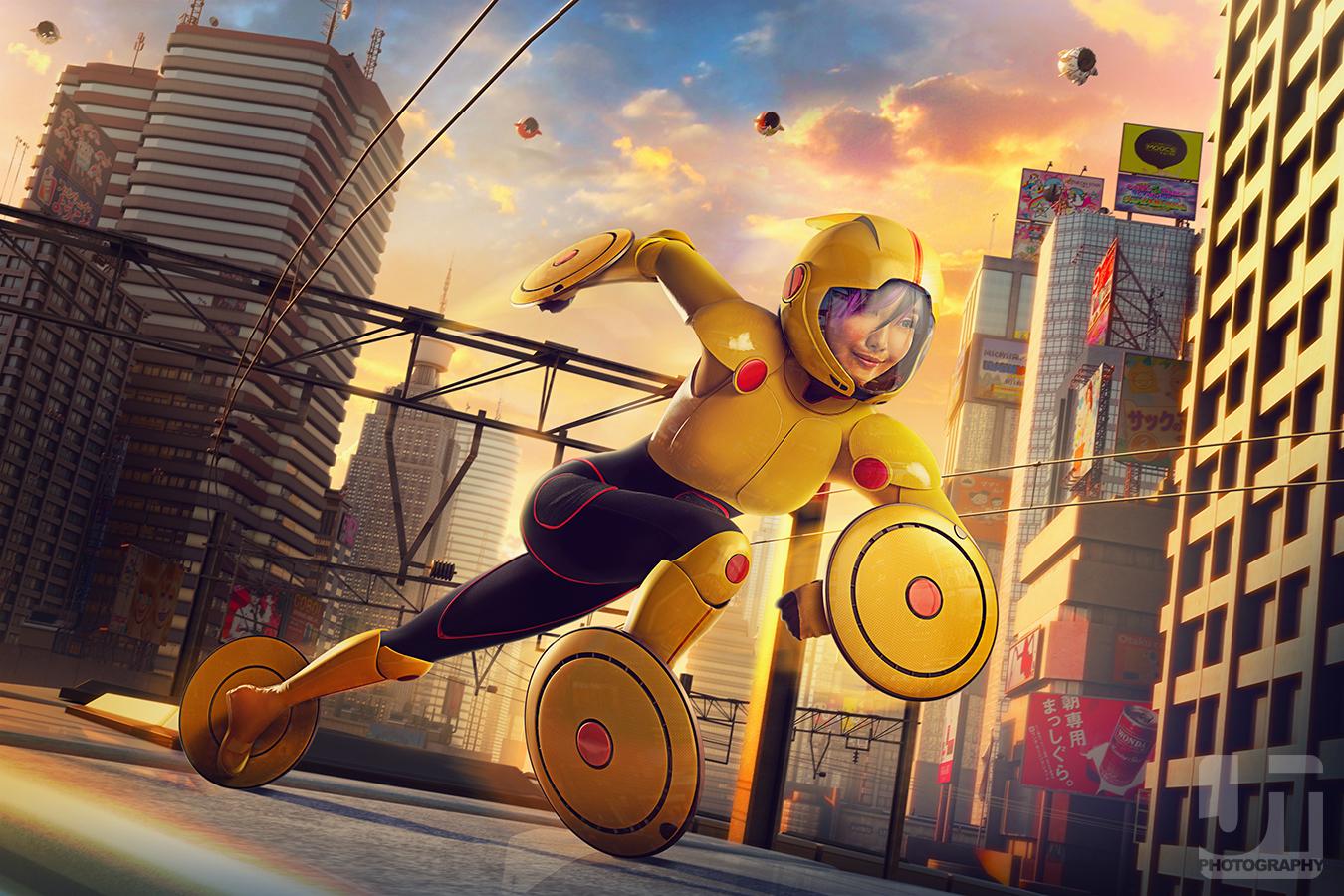 Big Hero 6 Gogo Tomago Cosplay