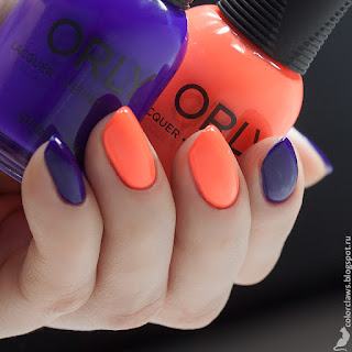 Orly Push the Limit + On The Edge