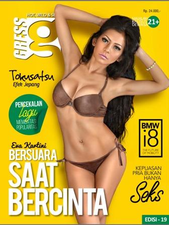 Download Gratis Magz Gress Magazine Edisi 19 - 2014 Free | Gress 18 Eva Kartini, Bersuara Saat Bercinta | GRESS Model Sexy : Eva Kartini, Ardhine Shalsabila, Diana Putri | www.insight-zone.com