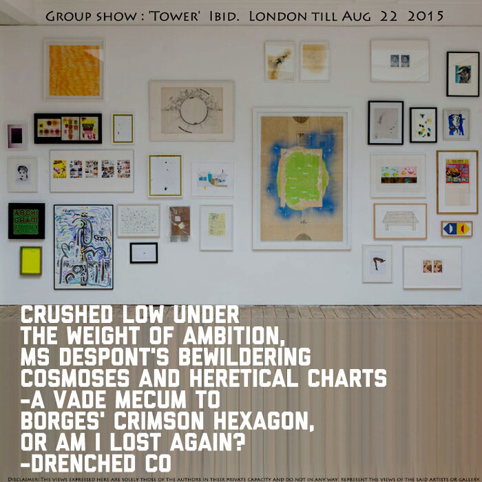 Image of IBID projects gallery with review by Drenched Co