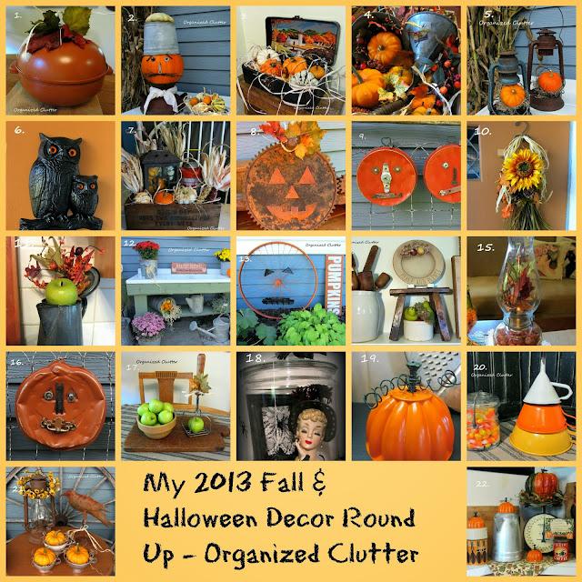 2013 Fall/Halloween Round Up http://organizedclutterqueen.blogspot.com/2013/10/an-organized-clutter-2013-fallhalloween.html