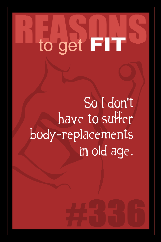 365 Reasons to Get Fit #336