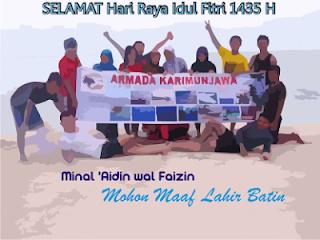 Karimunjawa Hari Raya Idul Fitri 1435 H 2013