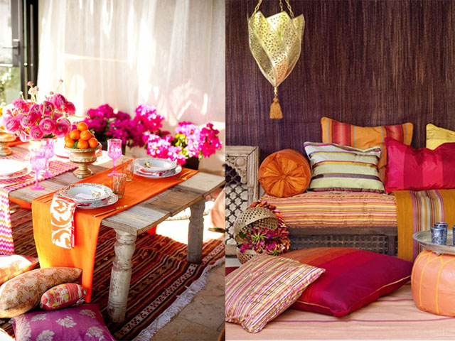 C mo decorar terrazas estilo marroqu decoguia tu gu a de decoraci n - Decoracion marruecos ...