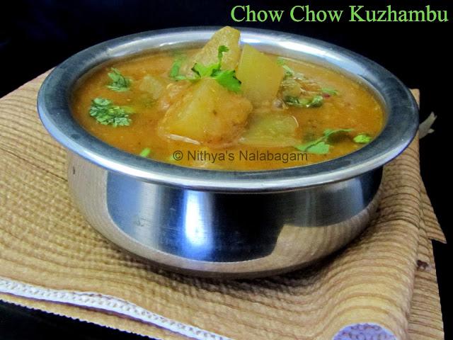 Chow Chow Kuzhambu