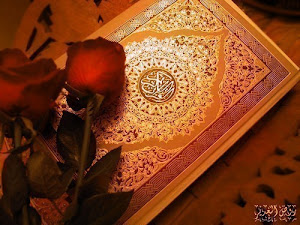 Al-Quran and Red Roses