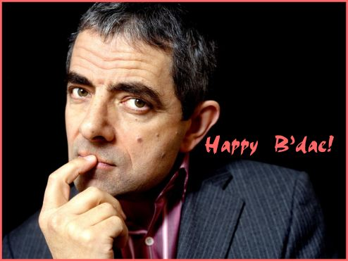 Happy Birthday 57th Mr Bean!
