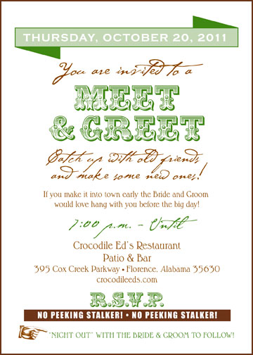 Baby Meet And Greet Printable Invitation Template | Party ...