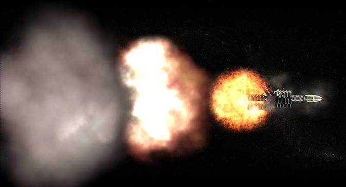 Project Orion: πυρηνικές βόμβες στην υπηρεσία της κατάκτησης του διαστήματος