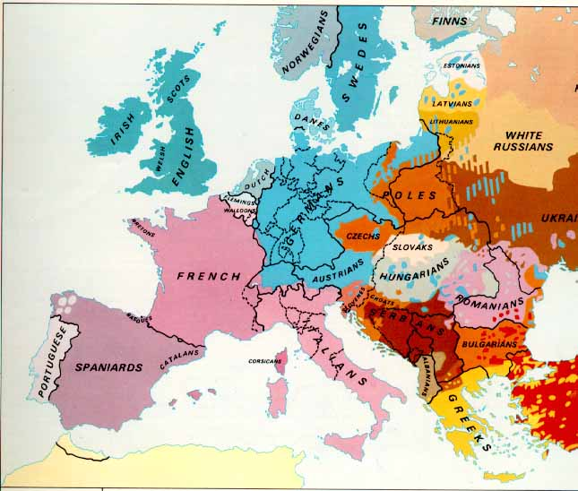 2015 Map Of Europe.Modern World History Level Five October 26 2015 Nationalism In