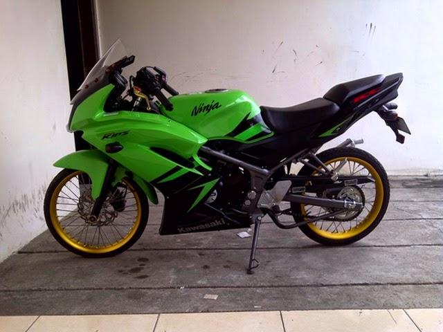 Modifikasi Kawasaki Ninja RR Velg Jari-Jari