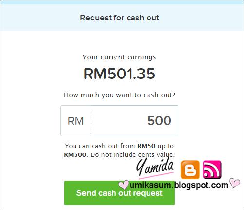 Terima bayaran hasil cashout earning 8Share RM500, Bayaran Keempat Dari Says/ 8Share RM500, menang contest 8Share, dapat hadiah wang ringgit join 8Share, cara daftar 8Share
