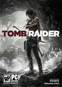 Tomb Raider 2013 official cover art front