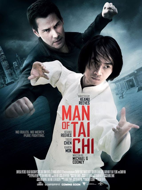 man of tai chi posters, man of tai chi movie reviews, tiger chen, keanu reeves
