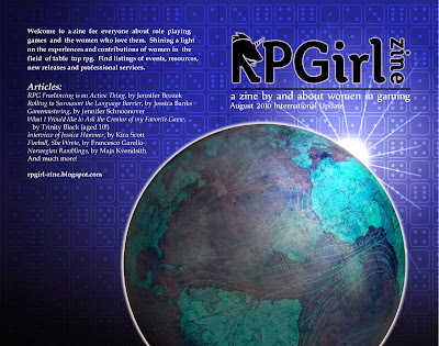 RPG = Role Playing Girl 2010 Cover