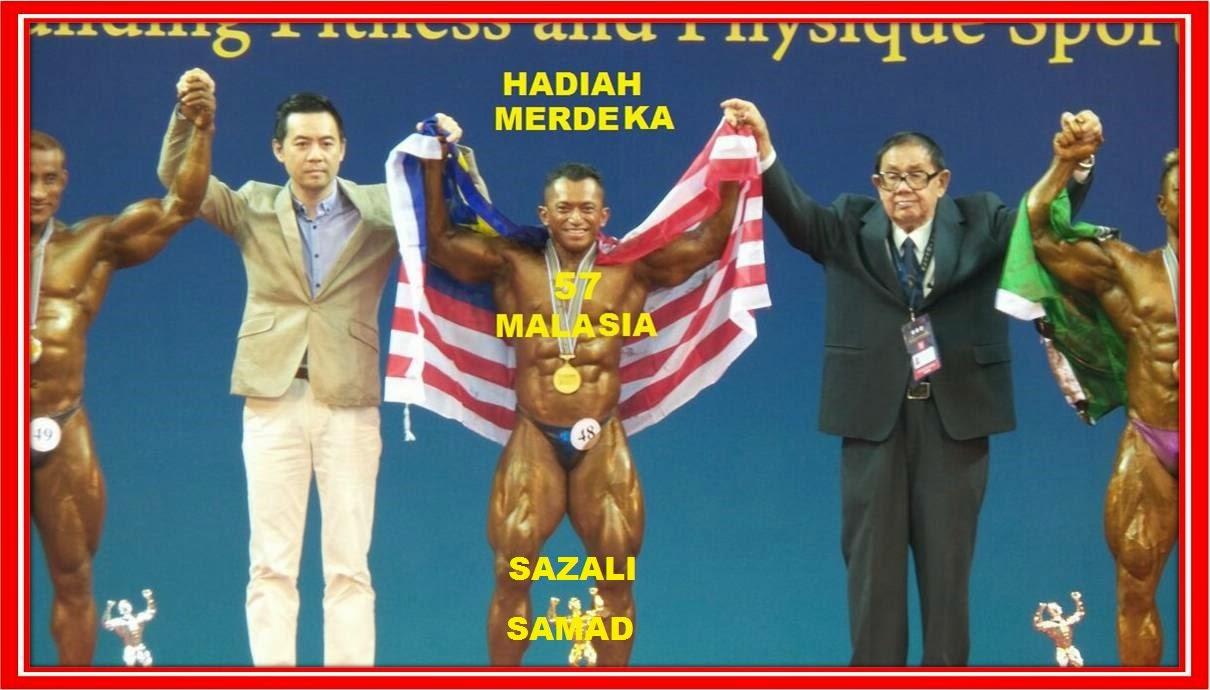 Mr Asia ke 9 SAZALI SAMAD. MALAYSIA