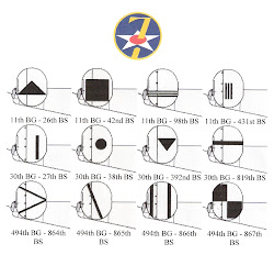 Tail markings of the 7th AAF