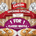 Gelare Singapore: 1 For 1 Classic Waffles Promotion at White Sands (from 14 Sep 2015)