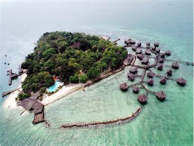 Kawasan Kepulauan Seribu.
