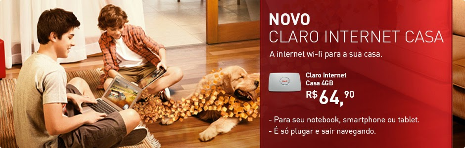 CLARO INTERNET C/ WI-FI