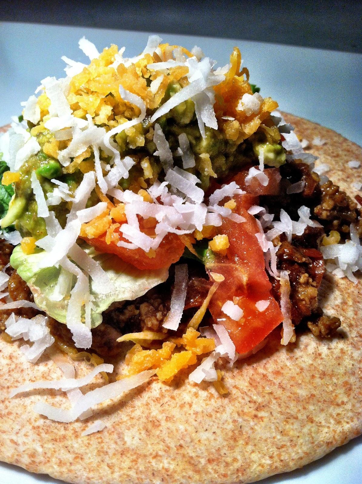 Chipotle & Coconut Beef Tacos