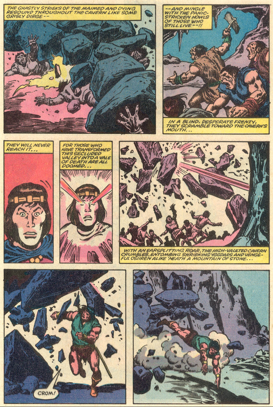 Conan the Barbarian (1970) Issue #151 #163 - English 22