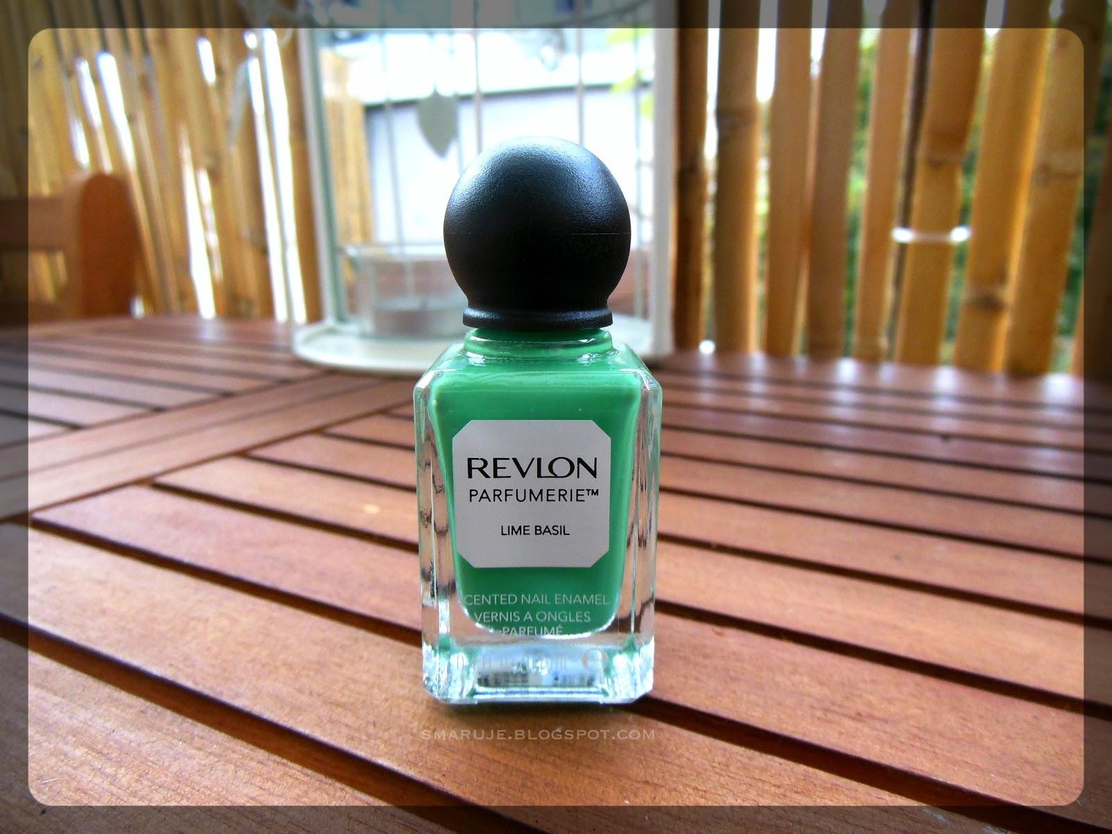Jestem zielony i śmierdzę: Revlon Parfumerie nr 075 Lime Basil