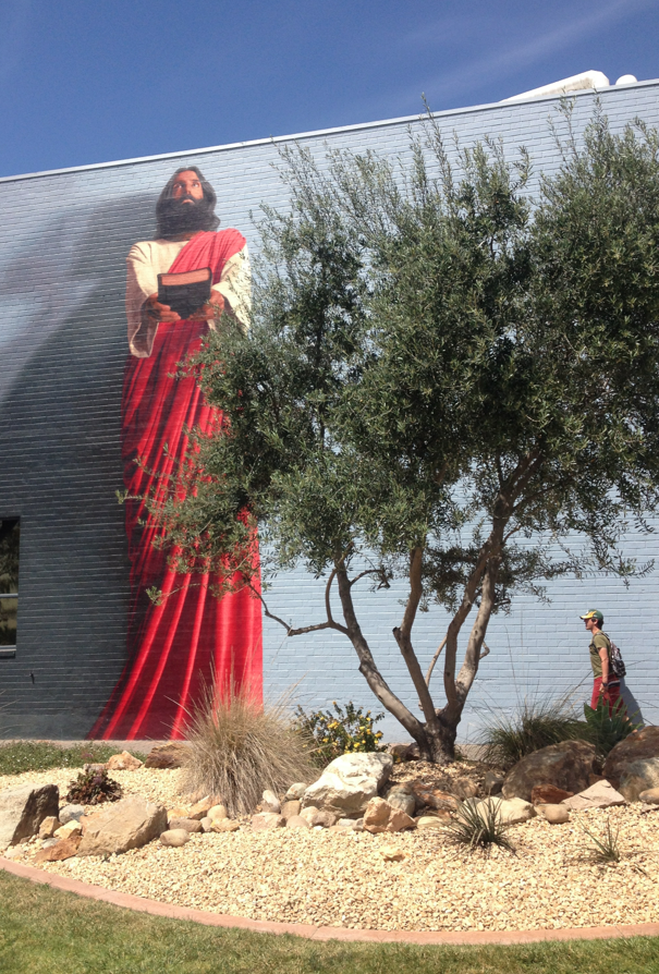 April 2014 for Biola jesus mural