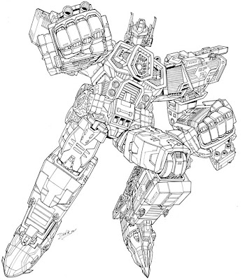 Transformer Coloring on Transformer Coloring Pages For Kids    Disney Coloring Pages