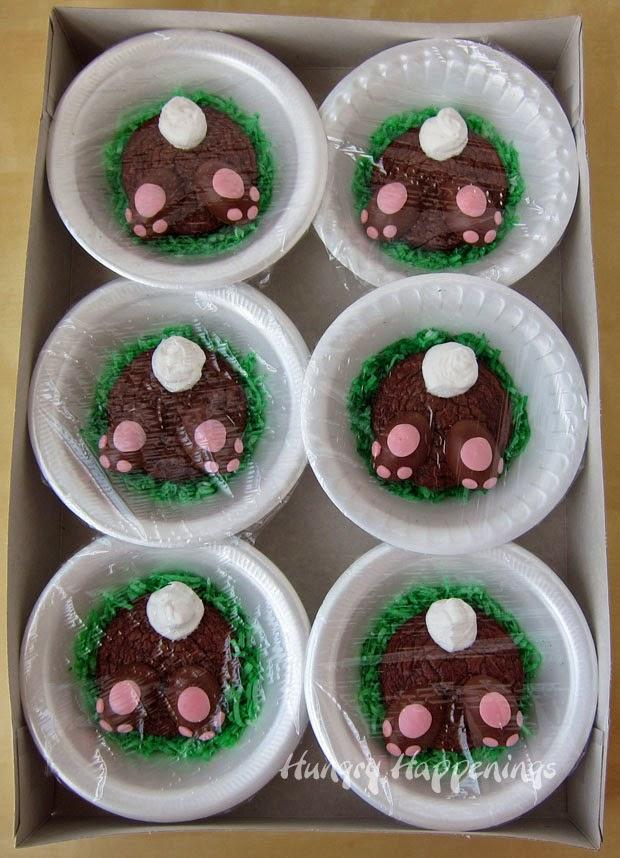 Brownie Easter recipe