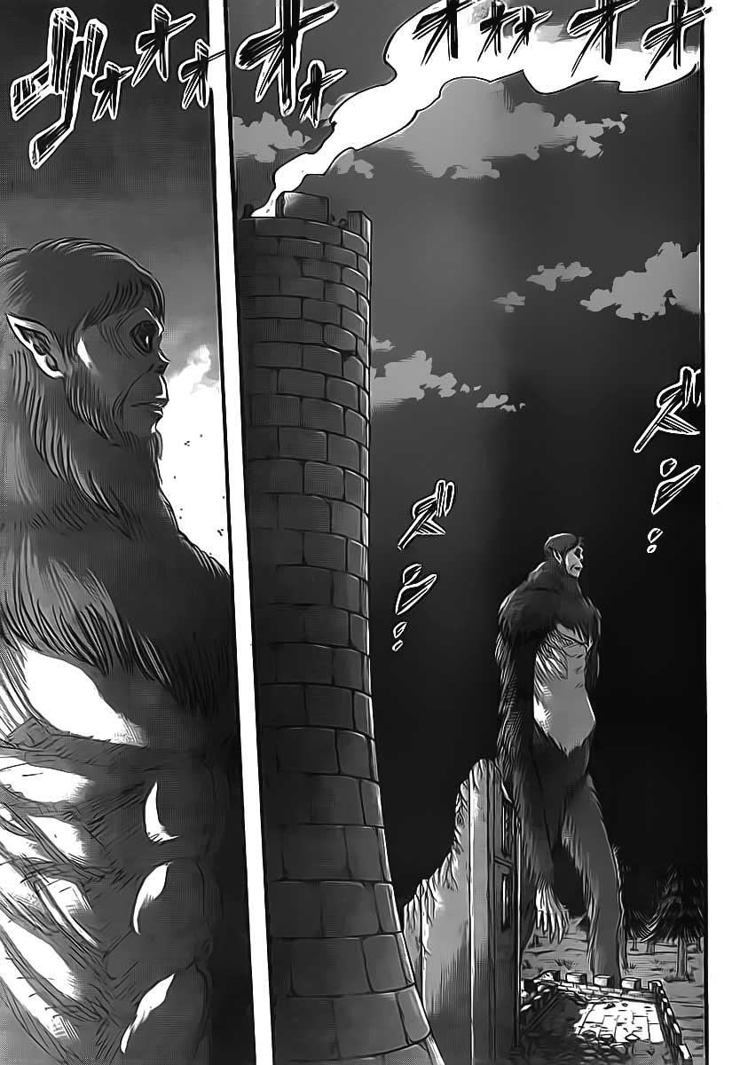 Attack on Titan chap 38 Trang 36