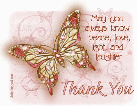 b 410278 Animated butterfly thank you message - Star Of The Month ~*..November 2013..*~