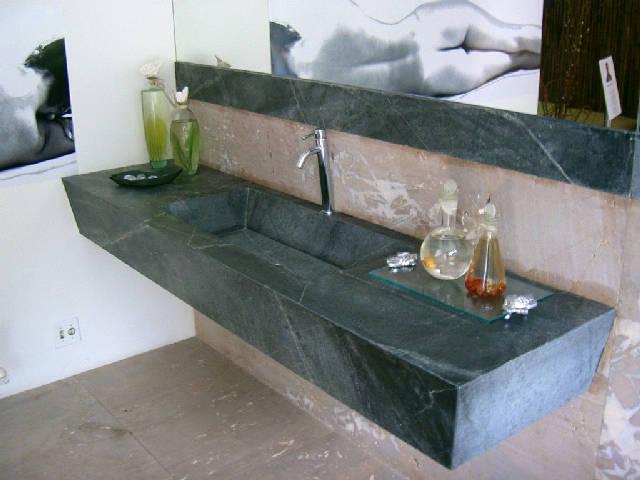 Soapstone Looking Granite : The granite gurus bathrooms with soapstone